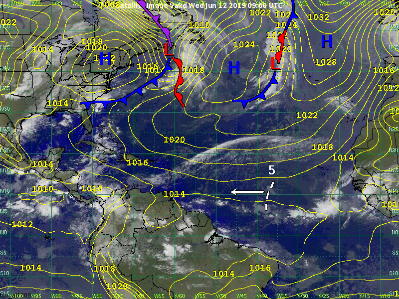 Tropical Cyclone Development Outlook